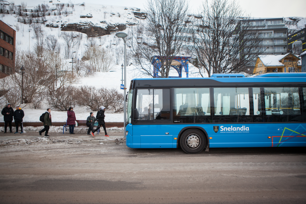 Endringer på rute 132 Hammerfest–Forsøl